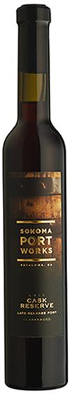 Sonoma Portworks Cask Reserve port bottle shot