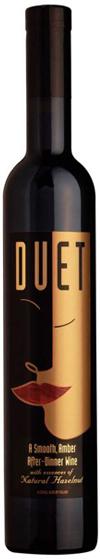 Duet Natural Hazelnut after-dinner wine bottle shot