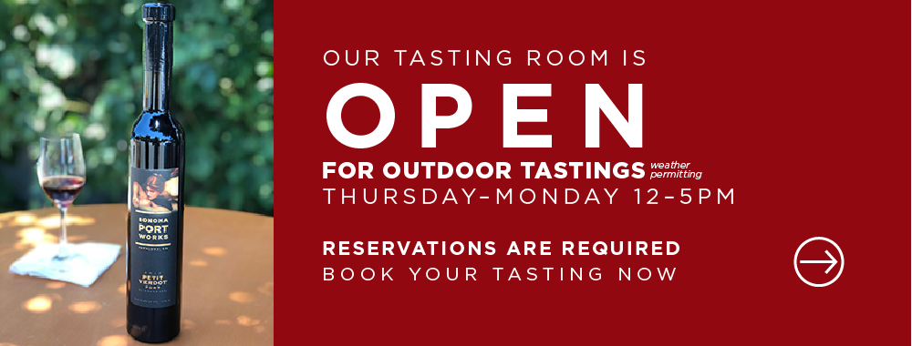 We're OPEN for tasting